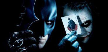 باتمان والجوكر من فيلم The dark night