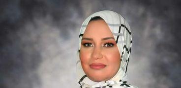"""الكاتبة شيماء فرح مؤلفة رواية """"دندش"""""""