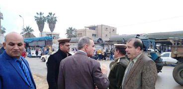 محافظ كفر الشيخ يوجه بسرعة إنهاء أعمال التطوير بمجمع المواقف
