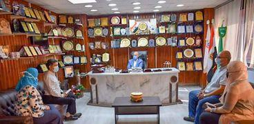 اجتماعات متعددة بصحة الشرقية لتطوير الخدمات الطبية ببلبيس والرمد