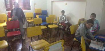 حملات مكبرة لغلق مراكز الدروس الخصوصية بمدينة دمياط الجديدة