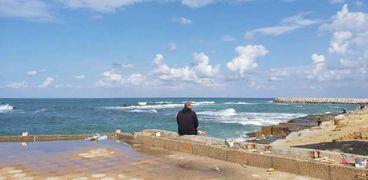 تحسن الأحوال الجوية فى الإسكندرية