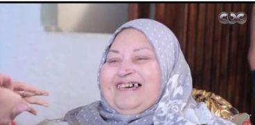 والدة الشهيد أحمد المنسي