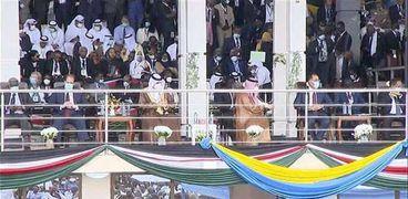 مراسم حفل توقيع اتفاق السلام