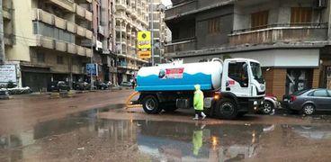 أمطار تحتاج الإسكندرية