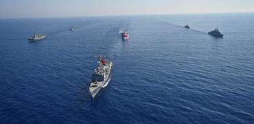 نشاط تركيا في شرق المتوسط