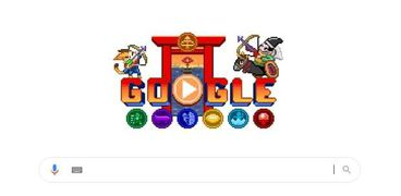 لعبة جوجل الجديدة