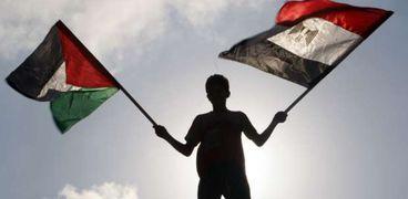 علمي مصر وفلسطين