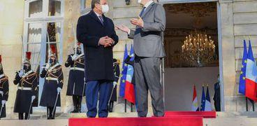 زيارة الرئيس عبد الفتاح السيسي لفرنسا - ارشيفية-