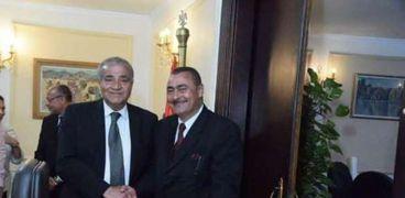 مجدي مع وزير التموين