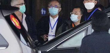 فريق الصحة العالمية في الصين