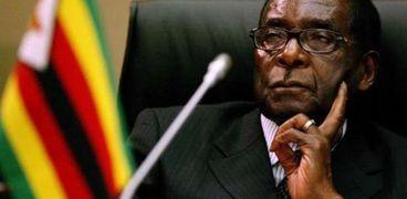 رئيس زيمبابوي-روبرت موجابي-صورة أرشيفية