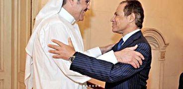 صورة من سفير السعودية مع الراحل منصور الجمال