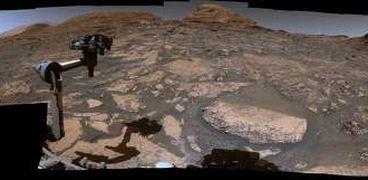 صورة التقطتها مركبة كيوريوسيتي من سطح المريخ