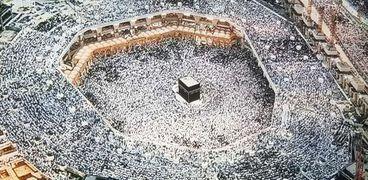 صلاة عيد فطر سابقة في الحرم المكي
