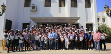 الدفعة الثانية من البرنامج الرئاسي لتأهيل الشباب الأفريقي للقيادة