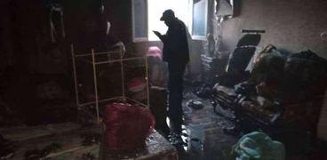 الحماية المدنية تسيطر على حريق بشقة غرب الإسكندرية