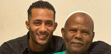 محمد رمضان ووالده