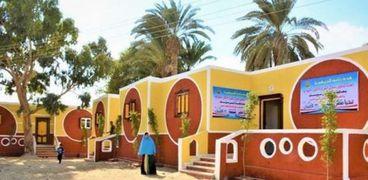 المنازل التي شملها تطوير مبادرة حياة كريمة
