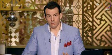 رامي رضوان مقدم برنامج مساء dmc