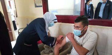 جانب من التطعيم بحميات بنها
