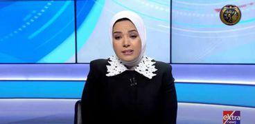 المذيعة آية عبد الرحمن مقدمة برنامج «الحقيقة»
