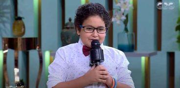 ياسين محمد، أصغر مذيع في مهرجان الجونة السينمائي