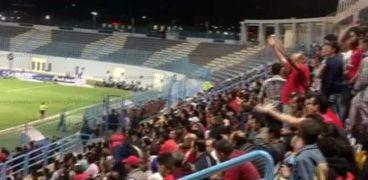 جمهور الأهلي أثناء إحدى المباريات