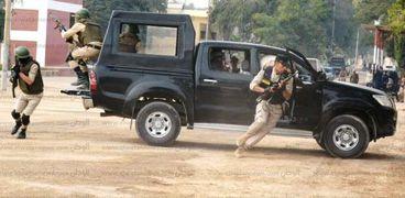 تنفيذ ١١٦٣ حكم قضائي في حملة أمنية بسوهاج