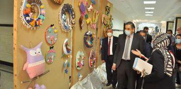 معرض بجامعة كفر الشيخ