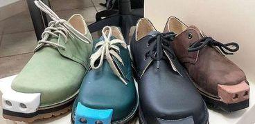 ارشيفية. حذاء للمكفوفين