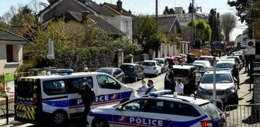 موقع الهجوم على الموظفة بالشرطة الفرنسية