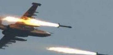 إحدى طائرات التحالف العربي