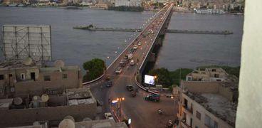 انتحار سيدة مجهولة بالقاء نفسها في النيل من اعلي كوبري سوهاج