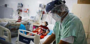 صورة أرشيفية لبعض المستشفيت التي تستقبل مرضى كورونا