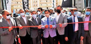 وزير الشباب والرياضة ومحافظ الغربية يفتتحان المرحلة الأولى لنادي city club بطنطا