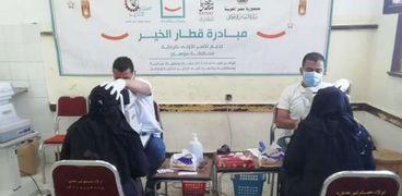 عمليات وأدوية ونظارات لمحدودي الدخل في «قطار الخير» بسوهاج
