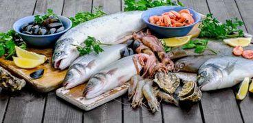 سعر السمك اليوم في سوق العبور
