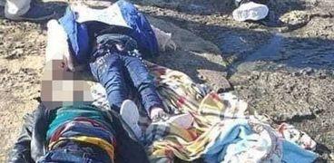 مأساة مركب أطفال الهجرة غير الشرعية بليبيا