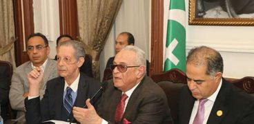 اجتماع حزب الوفد