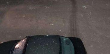 تساقط الثلوج في الإسكندرية
