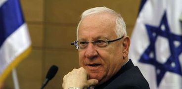 الرئيس الإسرائيلي-رؤوفين ريفلين-صورة أرشيفية