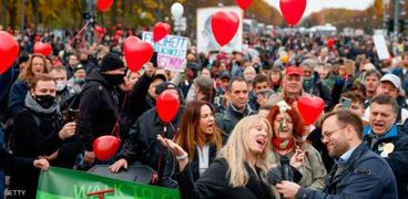 مظاهرات فى ألمانيا ضد قيود كورونا