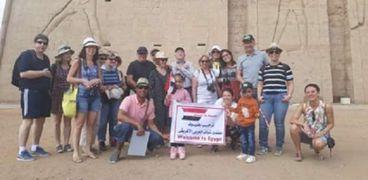 مبادرة يلا شباب تروج لسياحة أسوان استعدادا لمنتدى الشباب العربي الأفريقي