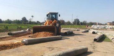 أمن المنوفية يواصل حملات إزالة التعديات على الأرض الزراعية ويزيل مخالفات على 18 ألف متر بمنوف