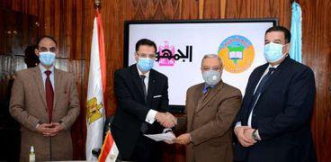 بروتوكول تعاون بين جامعة طنطا ودار التحرير للطبع والنشر