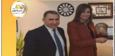 الدكتور عيسى إسكندر رئيس اتحاد العمال المصريين فى إيطاليا