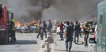 انفجار فى أفغانستان