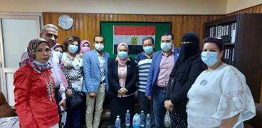 لجنه من وزارة الصحة تتفقد سير العمل بمستشفيات محافظة سوهاج