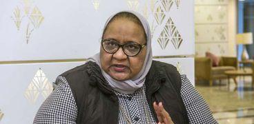 الدكتورة فاطمة الزهراء جيل، مدير مشروع تسريع الاستجابة للقضية السكانية بوزارة التنمية المحلية